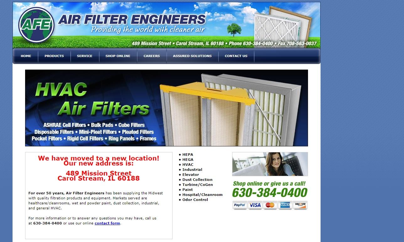 Air Filter Engineers, Inc.