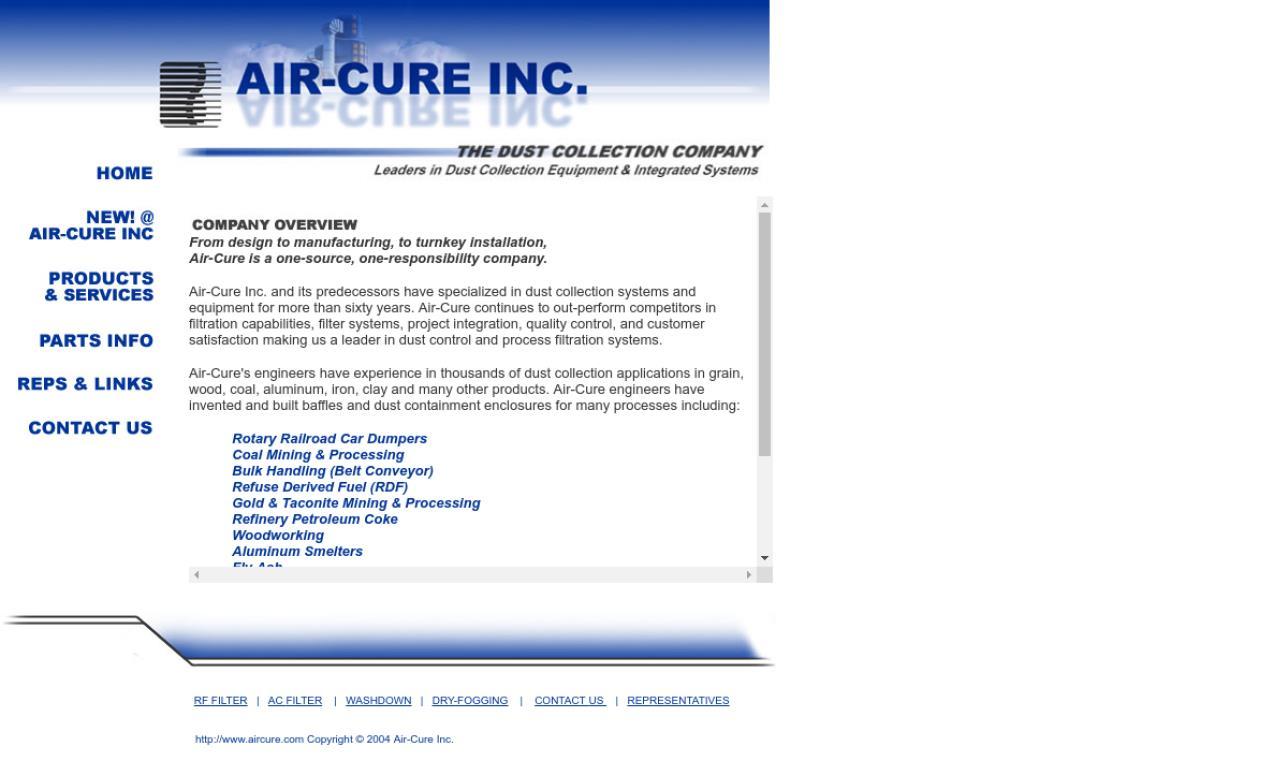 Air-Cure Inc.