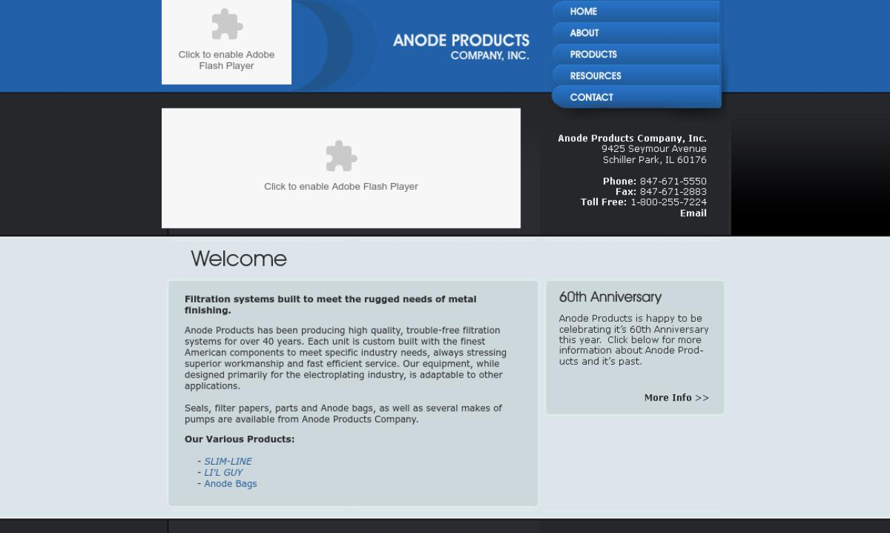 Anode Products Company, Inc.