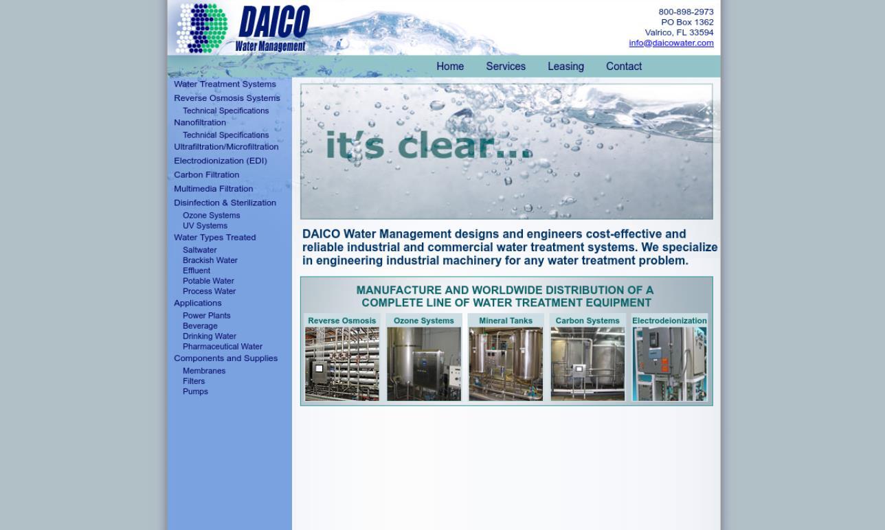 Daico Water Management, Inc.
