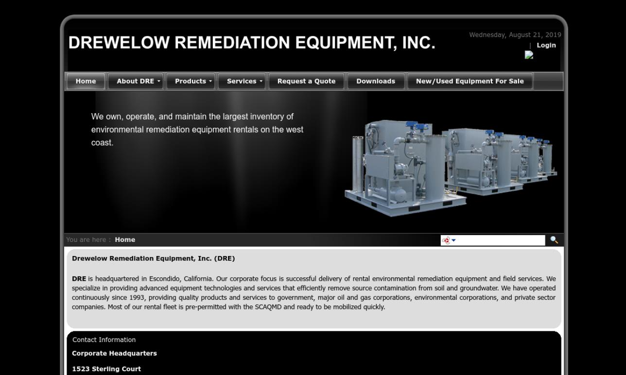 Drewelow Remediation Equipment, Inc.