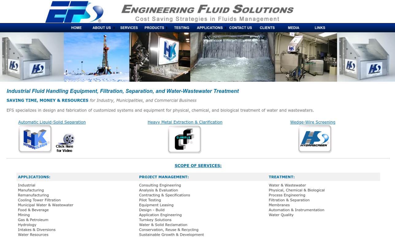 Engineering Fluid Solutions