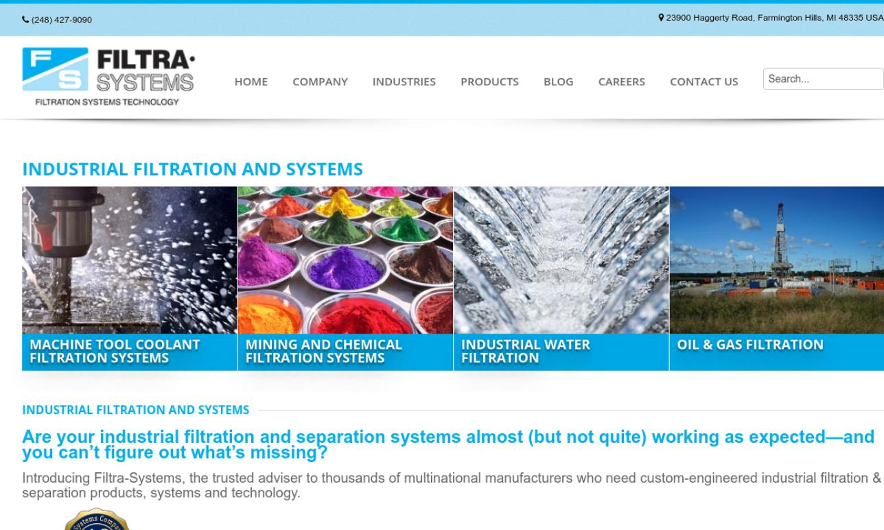 Filtra-Systems Co.