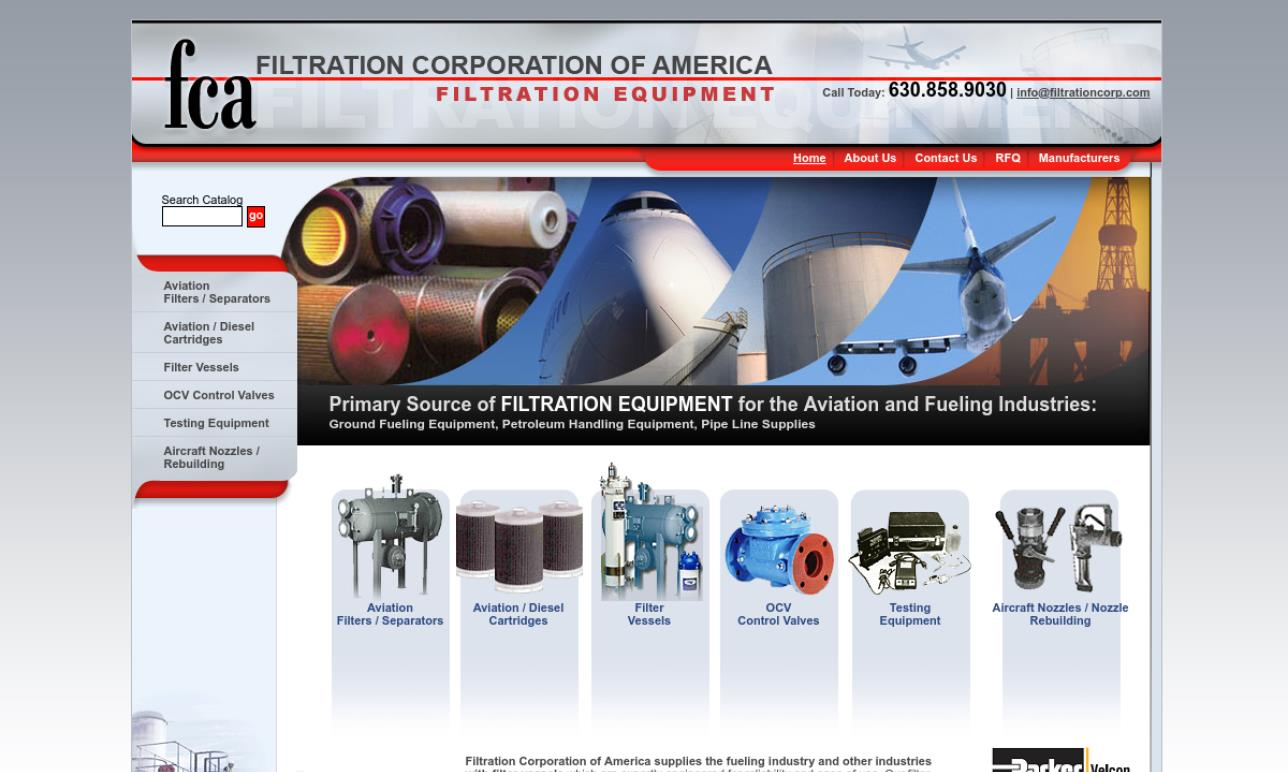 Filtration Corp. of America