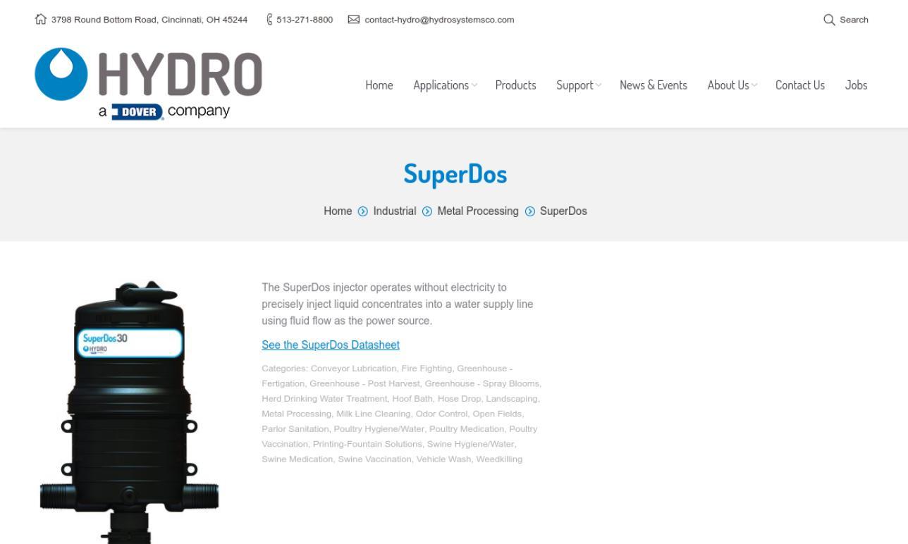 Hydro Systems Company