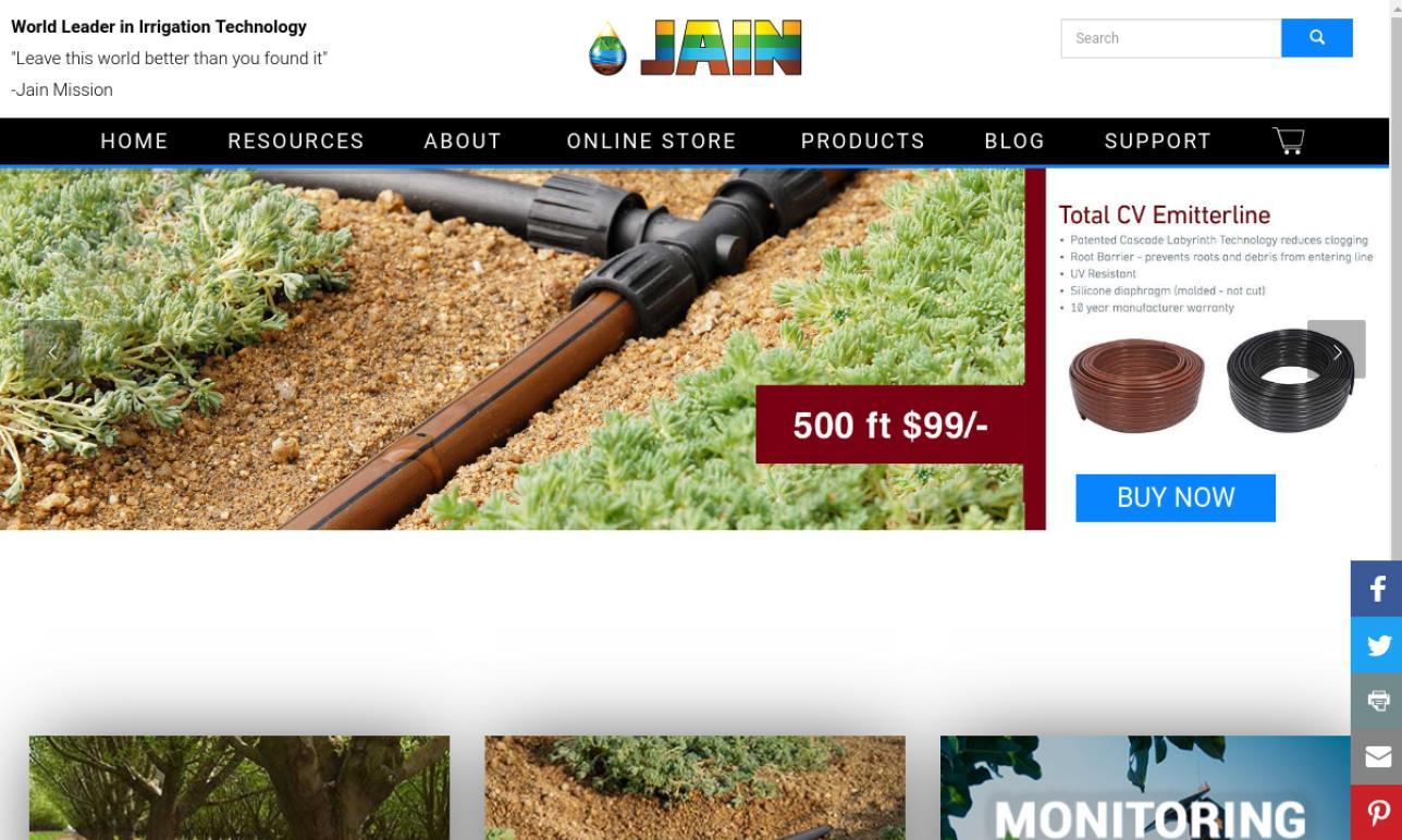 Jain Irrigation, Inc.
