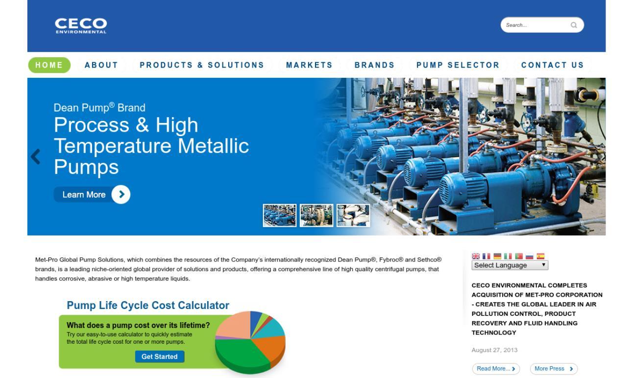 Met-Pro Global Pump Solutions