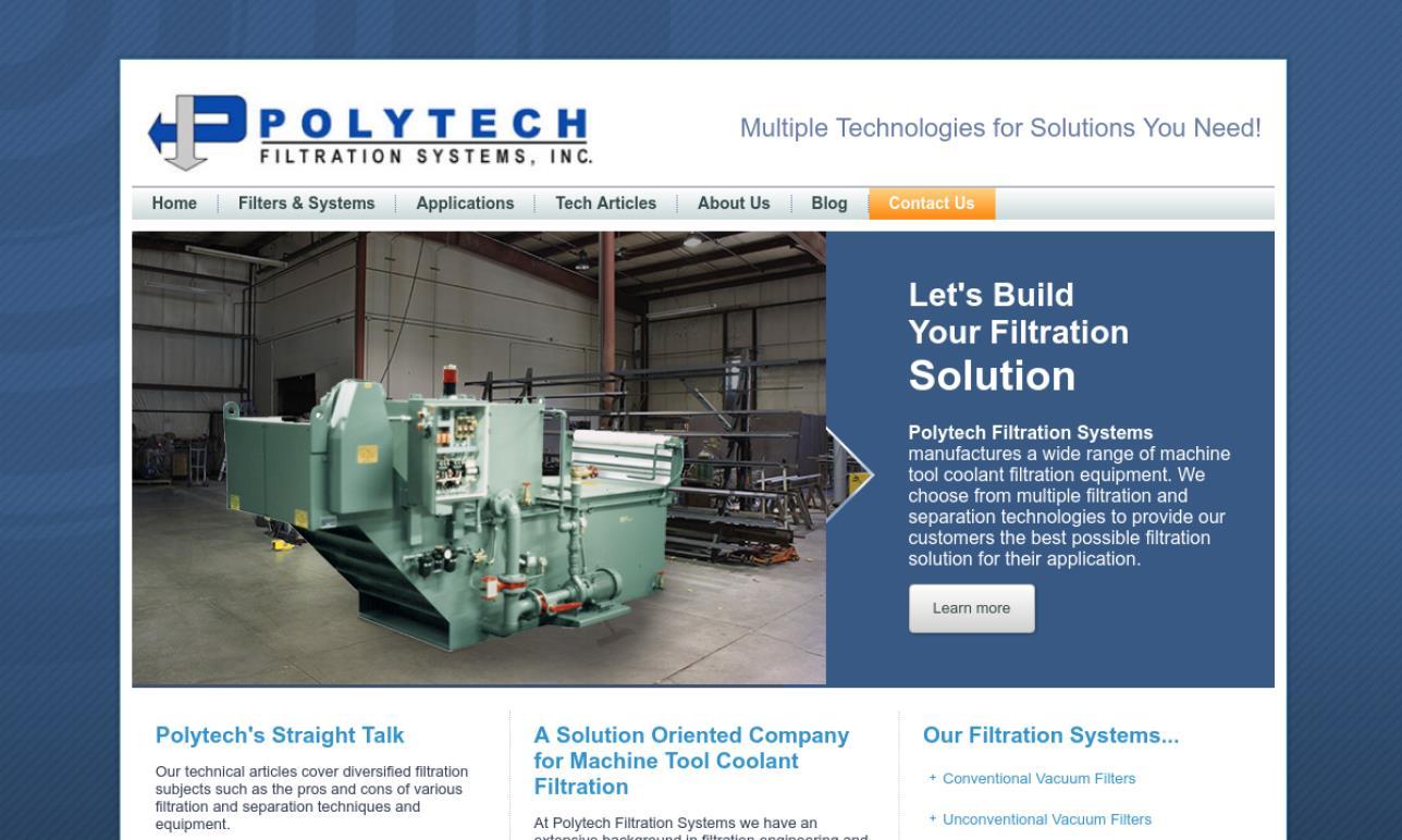Polytech Filtration Systems, Inc.