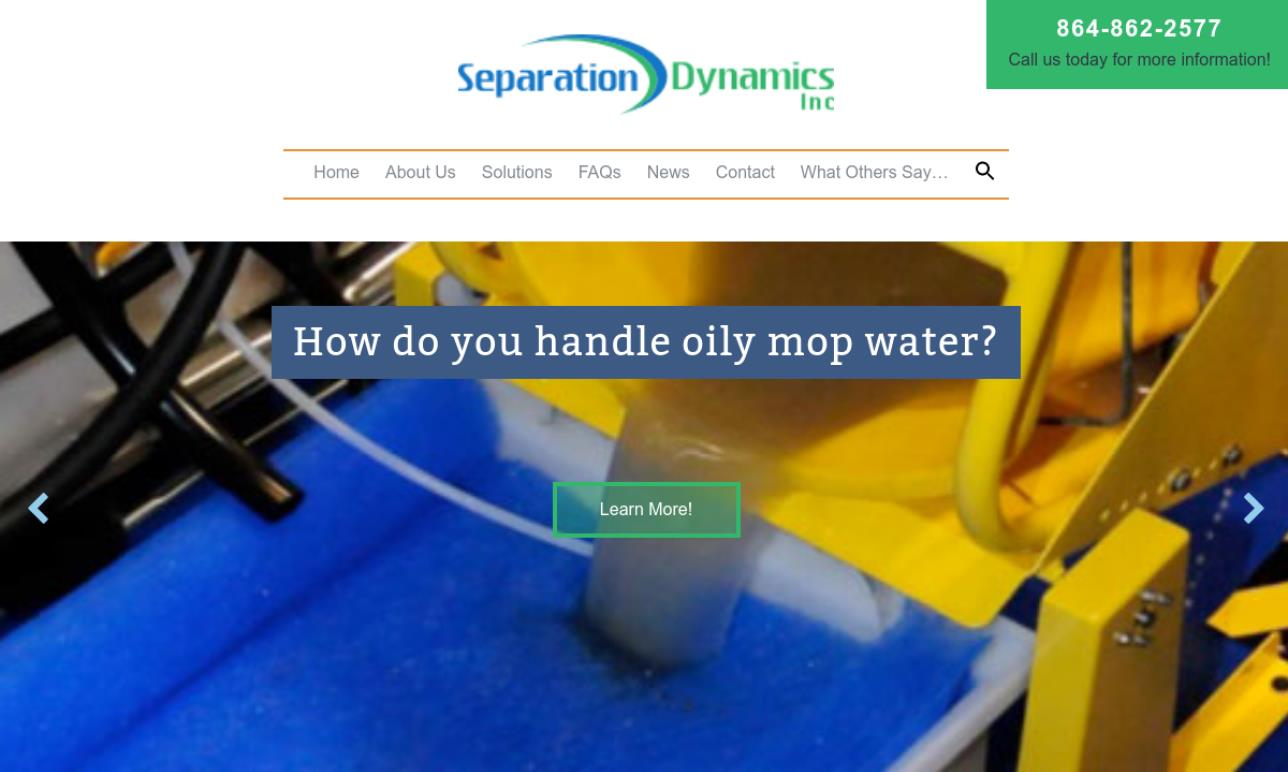 Separation Dynamics