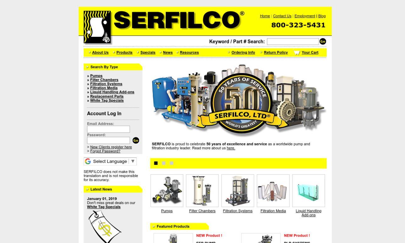 SERFILCO®, Ltd.