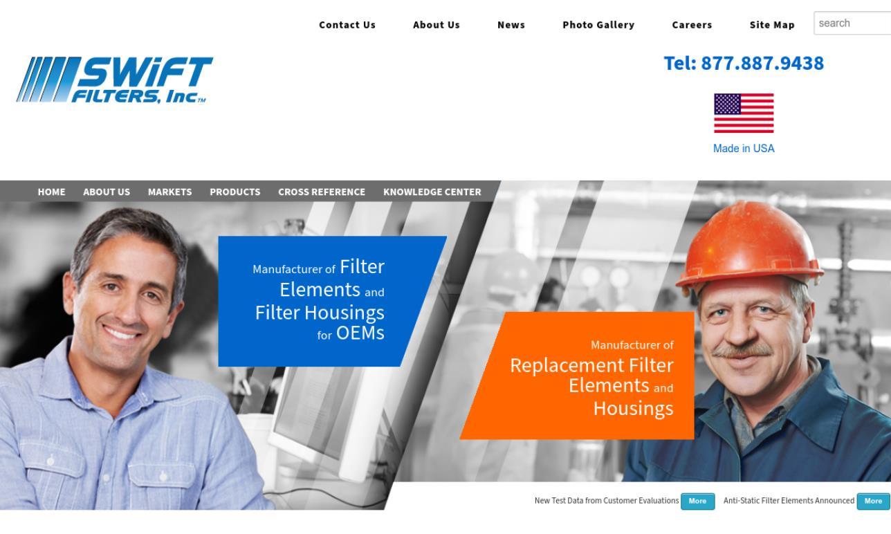 Swift Filters, Inc.