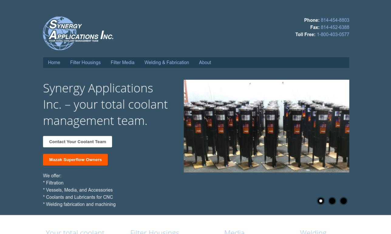Synergy Applications Inc.