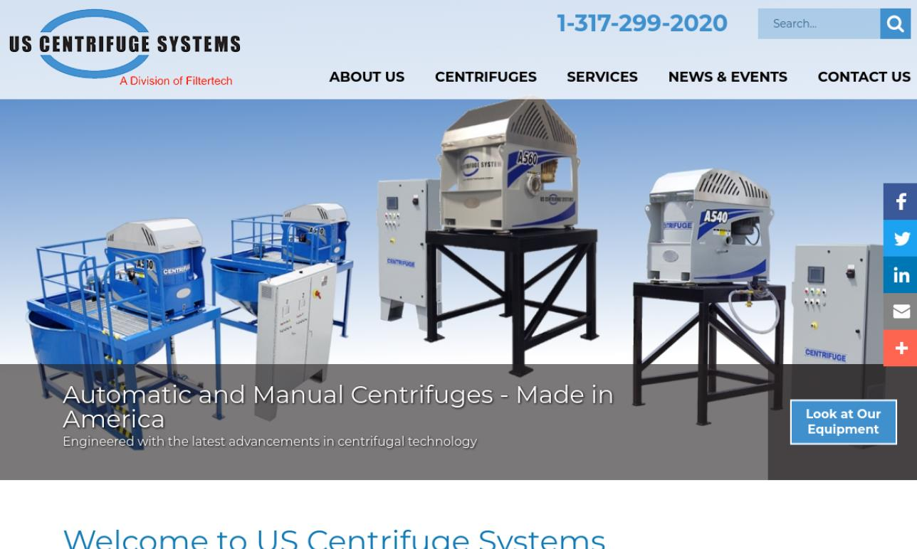 US Centrifuge Systems
